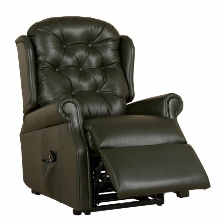 4111 vale furnishers wentworth standard recliner in leather
