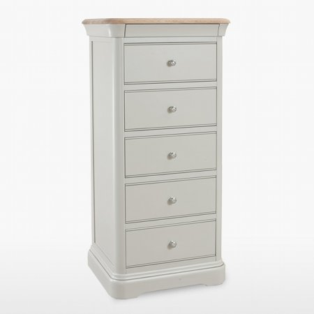 12237/Vale-Furnishers/Oliver-Painted-5-Drawer-Tall-Narrow-Chest