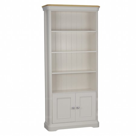 12280/Vale-Furnishers/Oliver-Painted-Bookcase-with-2-Doors