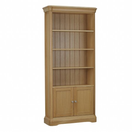 12302/Vale-Furnishers/Oliver-Natural-Bookcase-with-2-Doors