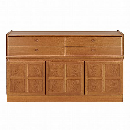 13001/Nathan/Teak-Collection-Classic-Buffet-Sideboard