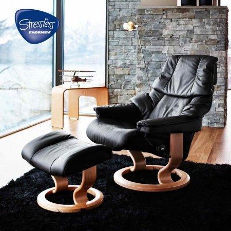 12833/Stressless/Reno-Medium-Recliner-Chair