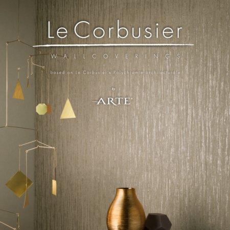 arte le corbusier wallcoverings vale furnishers. Black Bedroom Furniture Sets. Home Design Ideas