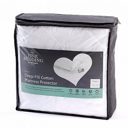 13591/The-Fine-Bedding-Co/Deep-Fill-Cotton-Mattress-Protector