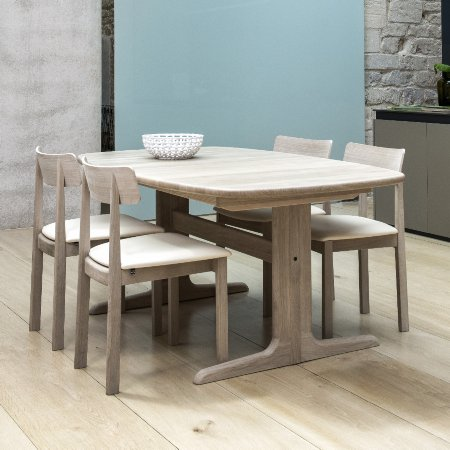 9268/Skovby/SM74-Extending-Dining-Table