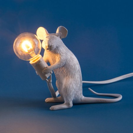 14470/Seletti/Sitting-Mouse-Lamp