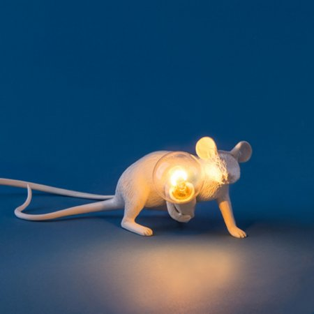 14469/Seletti/Lie-Down-Mouse-Lamp