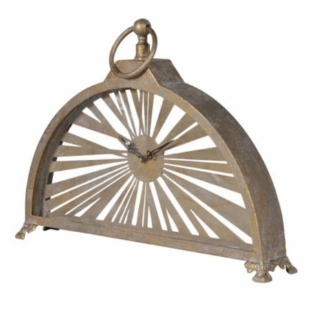 14665/Vale-Furnishers/Metal-Arch-Clock
