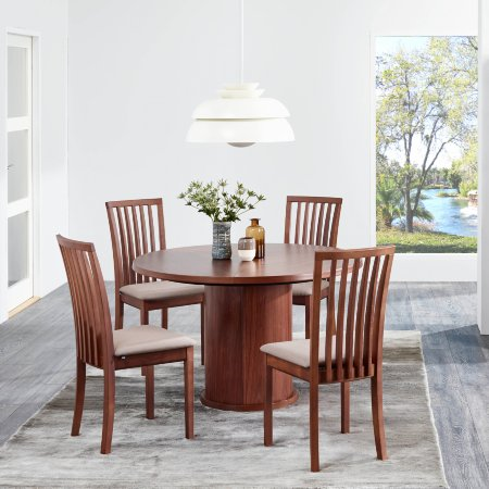 3789/Skovby/SM32-Circular-Extending-Dining-Table