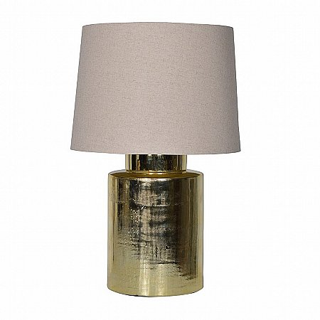15279/Vale-Furnishers/Gold-Jar-Lamp-With-Shade