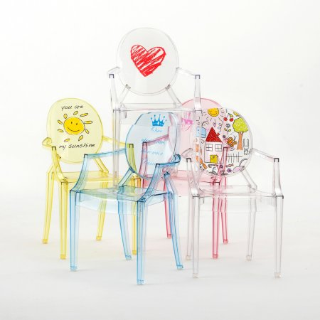 Kartell Lou Lou Ghost Child\'s Chair (Special Edition)