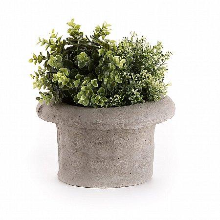 15541/Seletti/Cilindro-Concrete-Vase