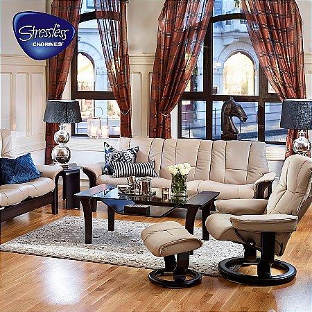 12820/Stressless/Buckingham-Sofa-Mayfair-Chair