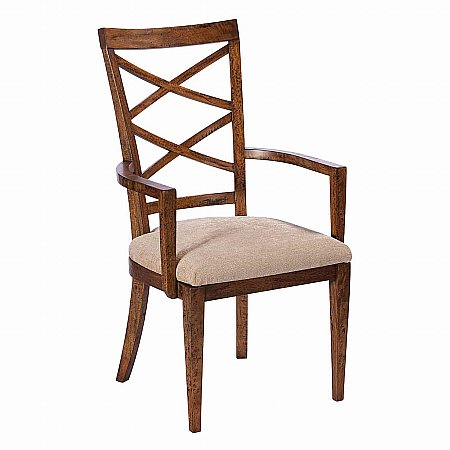 8497/Vale-Furnishers/Lyme-Bay-Biedermeier-Armchair