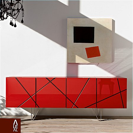 8796/Aleal/Stripes-Sideboard