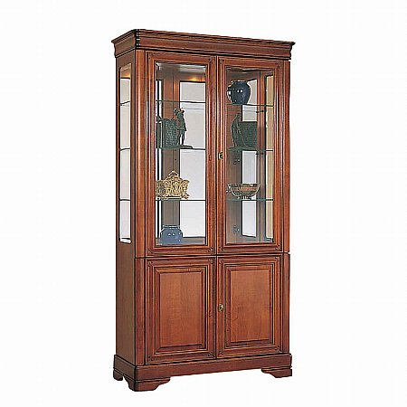 8885/Vale-Furnishers/Cork-2-Door-Glazed-Tall-Display-Cabinet