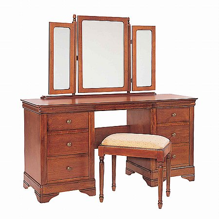 8923/Vale-Furnishers/Cork-Kneehole-Dressing-Table