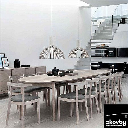 9265/Skovby/SM78-Extending-Dining-Table