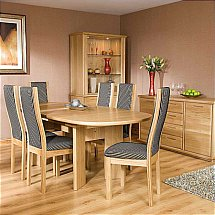Vale Furnishers - Bruges Dining Collection