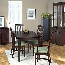 Vale Furnishers - Molesey Mahogany Dining Set