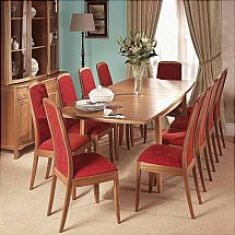Nathan - Teak Collection Shades Dining Set