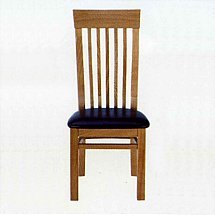 Vale Furnishers - Truro Slatted Back Dining Chair