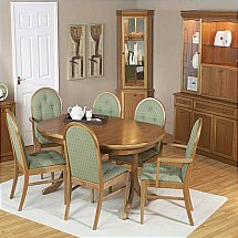Vale Furnishers - Molesey Teak Dining Set