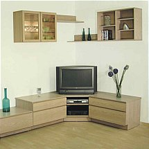 Beaver and Tapley - Tapley 33 Light Oak Wall Unit
