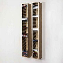 Beaver and Tapley - Tapley 33 Light Oak CD Storage