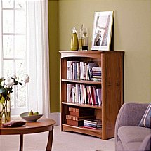 Nathan - Teak Collection Editions Mid Double Bookcase