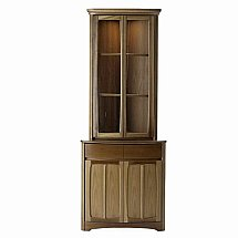 Nathan - Teak Collection Shades Corner Display Top Unit