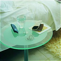 Vale Furnishers - Glass Small Round Table