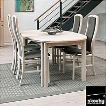Skovby - DC05 Extending Oval Dining Table