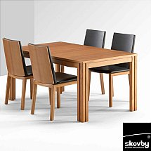 Skovby - SM23 Dining Table With SM51 Chairs