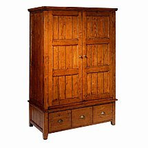 Vale Furnishers - Somerset Large 2 Door Wardrobe
