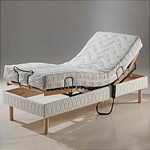 Vale Furnishers - Bedrooms - Lincoln 3ft Adjustable Bed with Matching Headboard