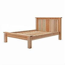 Vale Furnishers - Truro Low Foot End 4ft 6in Bedstead