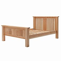 Vale Furnishers - Bedrooms - Truro 4ft 6in High Foot End Bedstead
