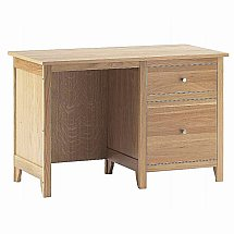 Vale Furnishers - Cirrus Single Desk with Filing Drawers
