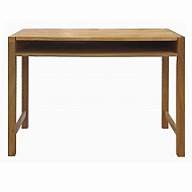 Vale Furnishers - Vale Oak Writing Desk