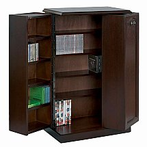 Vale Furnishers - Molesey DVD and CD Storage Cabinet