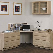 Beaver and Tapley - Tapley 33 Light Oak Home Office