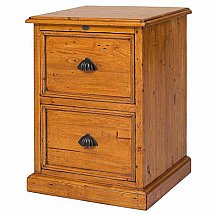 Vale Furnishers - Somerset 2 Drawer Filing Cabinet