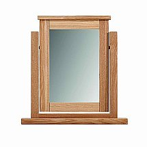 Vale Furnishers - Bedrooms - Truro Dressing Table Mirror