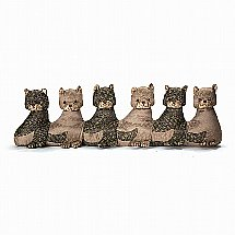 Dora Designs - Draught Excluder - Miss Millicient's Kittens