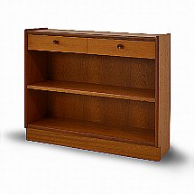 Nathan - Classic Low Open Bookcase