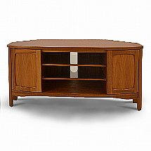 Nathan - Shades Shaped Corner TV Unit