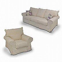 Collins and Hayes - Lavinia Large Sofa and Armchair