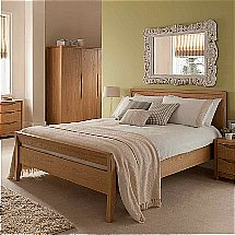 Vale Furnishers - Carlson 4ft 6in Bedframe