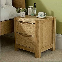 Vale Furnishers - Carlson Bedside Cabinet